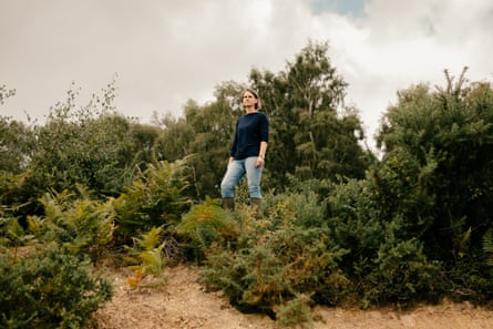 New Forest commoner Lyndsey Stride.