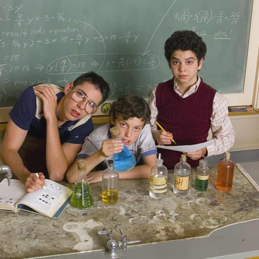 (L-r) Martin Starr, John Francis Daley and Samm Levine in Freaks and Geeks