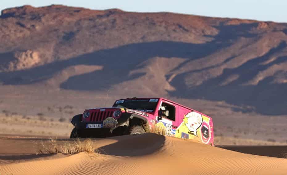 The Rallye Aïcha des Gazelles du Maroc