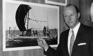 Norwegian explorer Thor Heyerdahl promised Rapa-Nui authorities he would repatriate the objects, his family said.