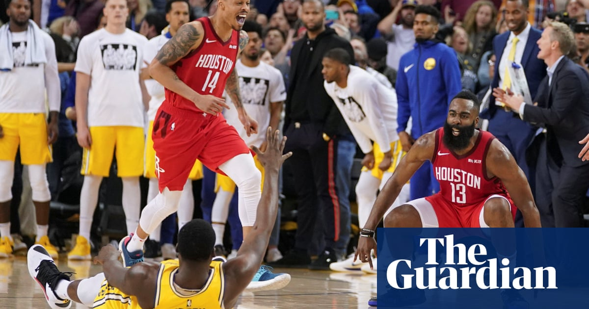 ac0d89e994ab Harden s  impossible  shot secures Rockets  20-point comeback against  Warriors