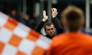 Luton manager Nathan Jones
