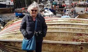 Helen Frayne in Cornwall