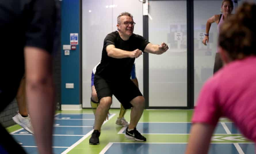 Tom Watson: training to be a Level 2 fitness instructor?