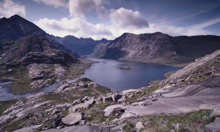 Loch Coruisk as seen from Sgurr Na Stri.