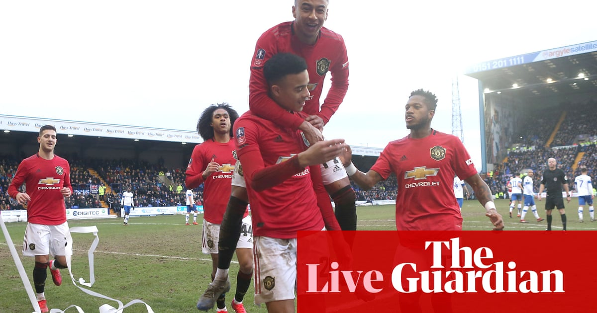 Tranmere Rovers 0-6 Manchester United –as it happened
