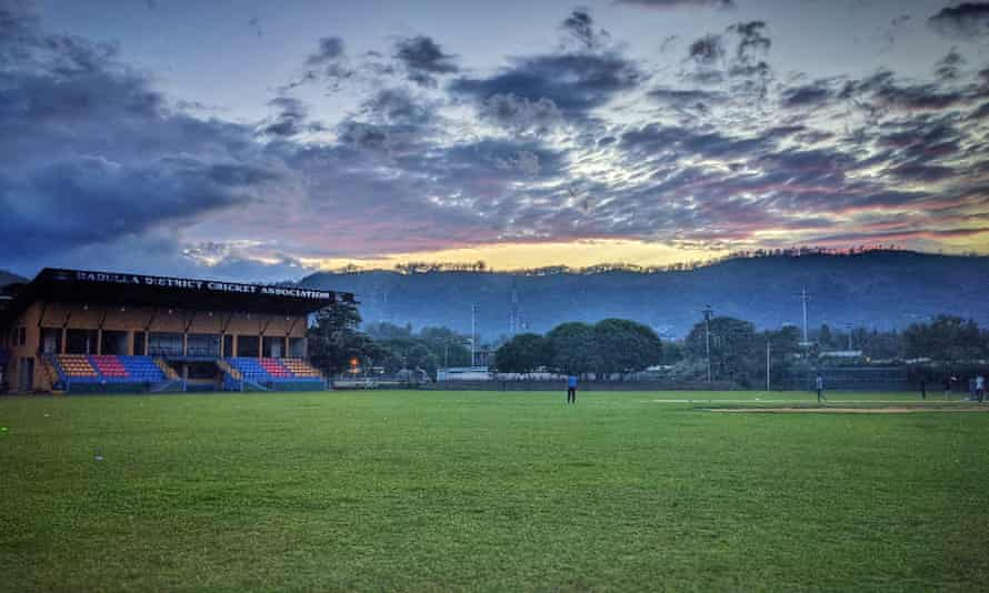 The Badulla cricket ground in Sri Lanka where the ghost match was supposed to have been staged.