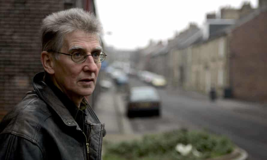 Barry Hines pictured in his home town of Hoyland Common
