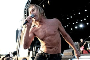 'It looks like his body has been put through the ringer' … Iggy at the 2011 Hop Farm festival in Kent.