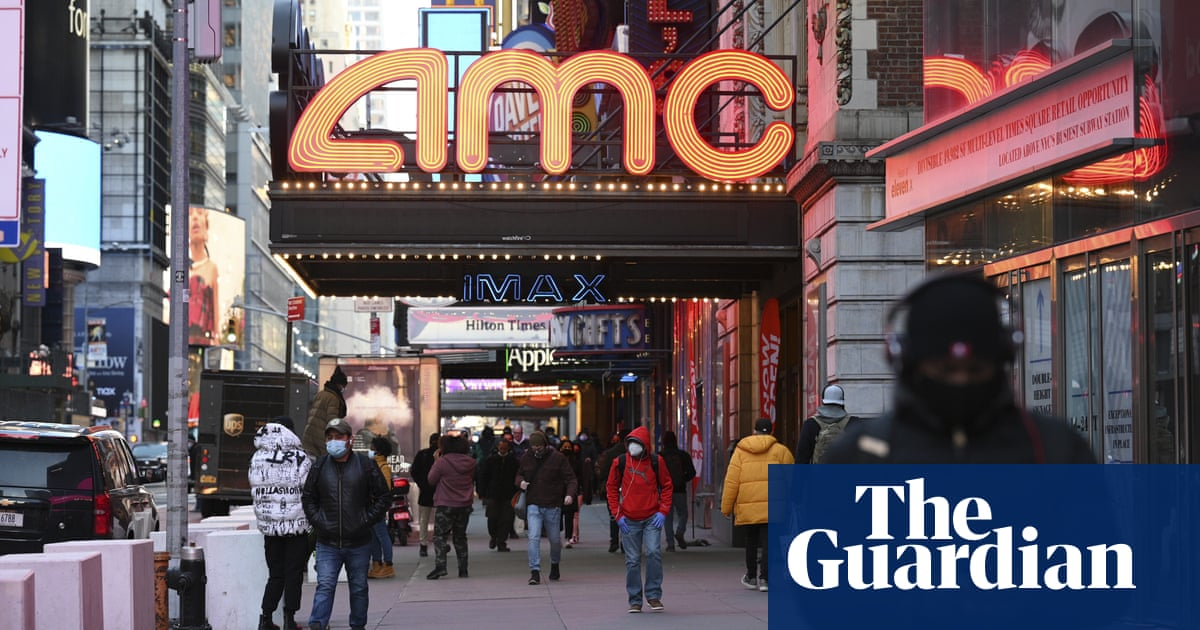 AMC Entertainment shares soar in latest GameStop-style frenzy