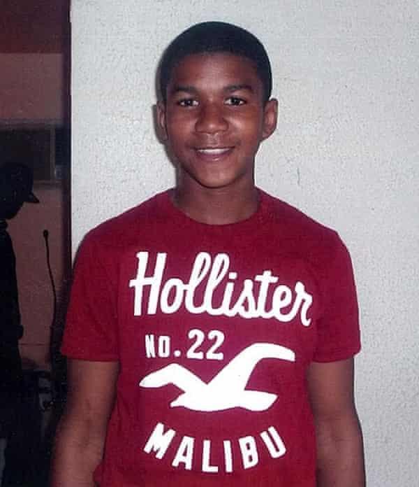 Trayvon Martin in 2012.