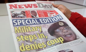 A special edition of the Zimbabwean paper NewsDay.