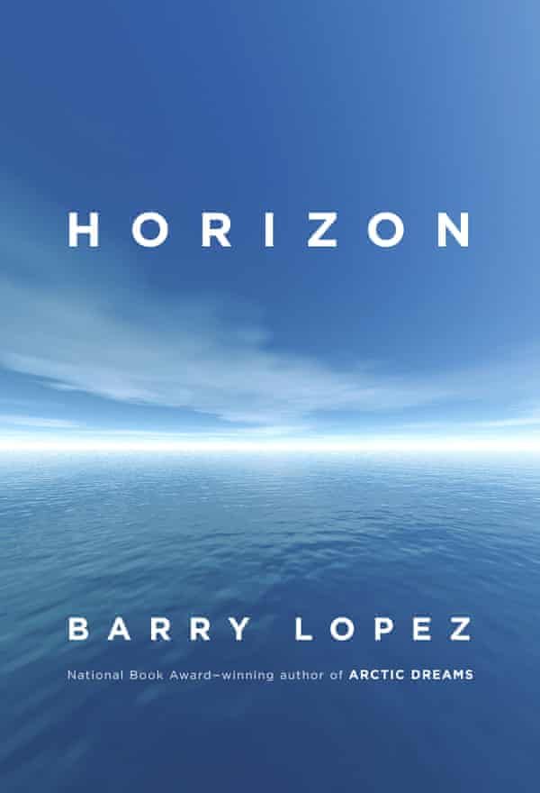 "This cover image released by Knopf shows ""Horizon,"" by Barry Lopez. (Knopf via AP)"