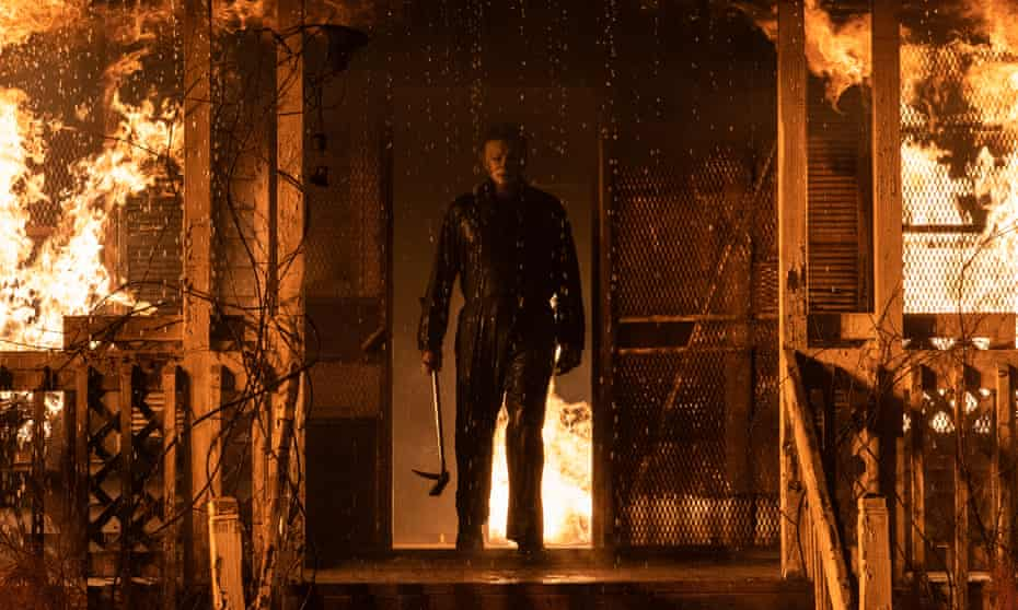James Jude Courtney in Halloween Kills