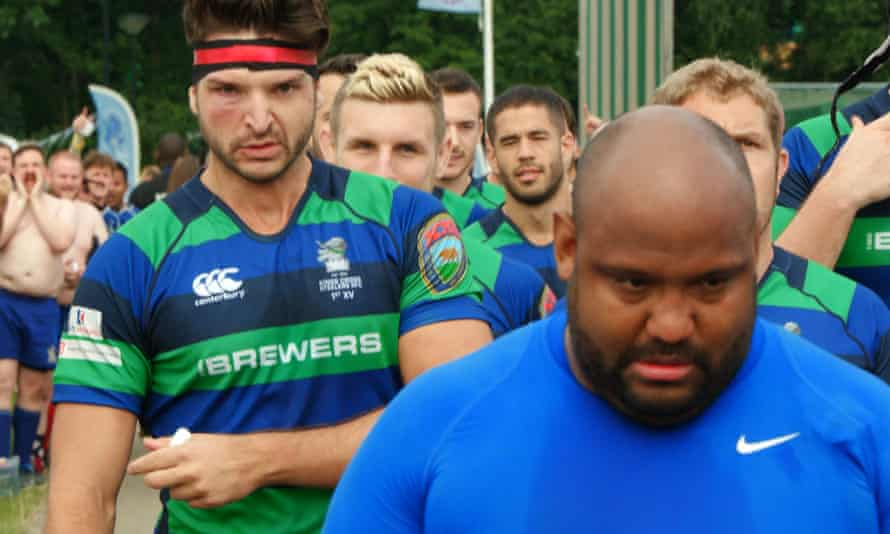 No normal sports movie ... a still from Steelers: the World's First Gay Rugby Club.