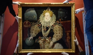 National significance … the Armada portrait of Elizabeth I is reinstalled at Queen's House, Greenwich.