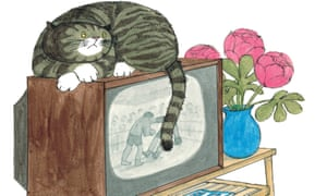 Judith Kerr's Mog the Forgetful Cat (detail): one of the 'whirl of classics' from Lucy Mangan's childhood
