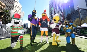 Mascots of NRL clubs