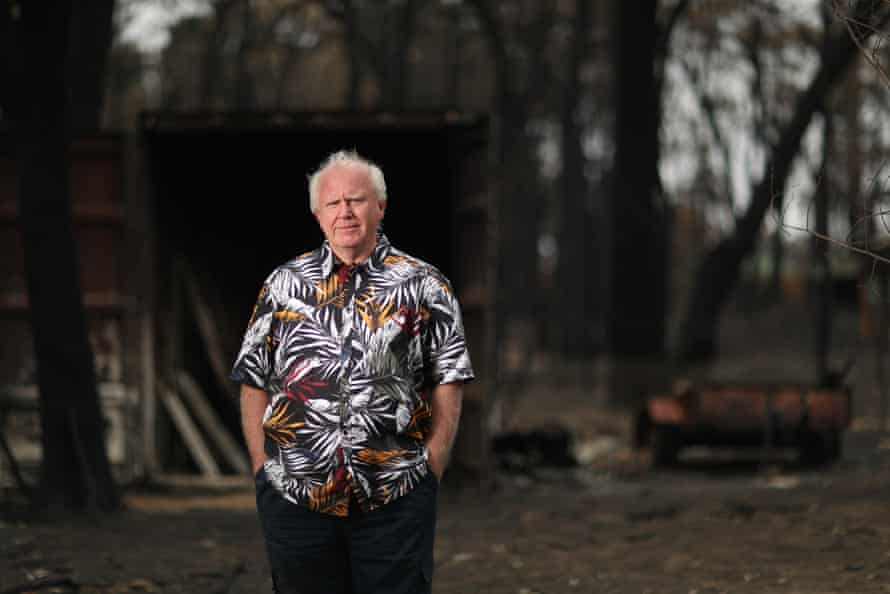 Simon Marlow on his scorched property