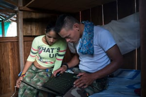 Farc is placing great importance on the importance of media, having launched a web TV channel in La Havana. With a presence on social networks, they are training media teams like Daniela and Pedro