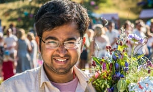 Rahul Mandal, this year's Bake Off winner, came from India to study for his PhD in optical metrology at Loughborough University.