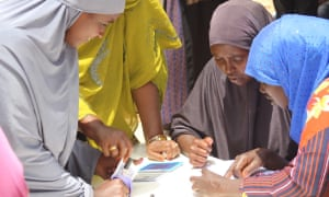 Women lead emergency food and dignity kit distribution in Qoyta region, Somaliland.