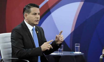 Costa Rican presidential candidate Fabricio Alvarado is the current front-runner largely because of his anti-gay marriage position.