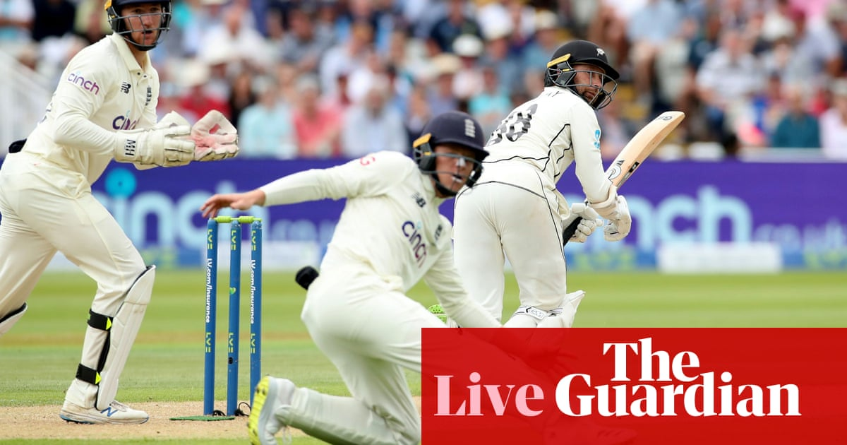 England v New Zealand: second Test, day two – live!