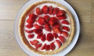Martha Stewart's strawberry tart.