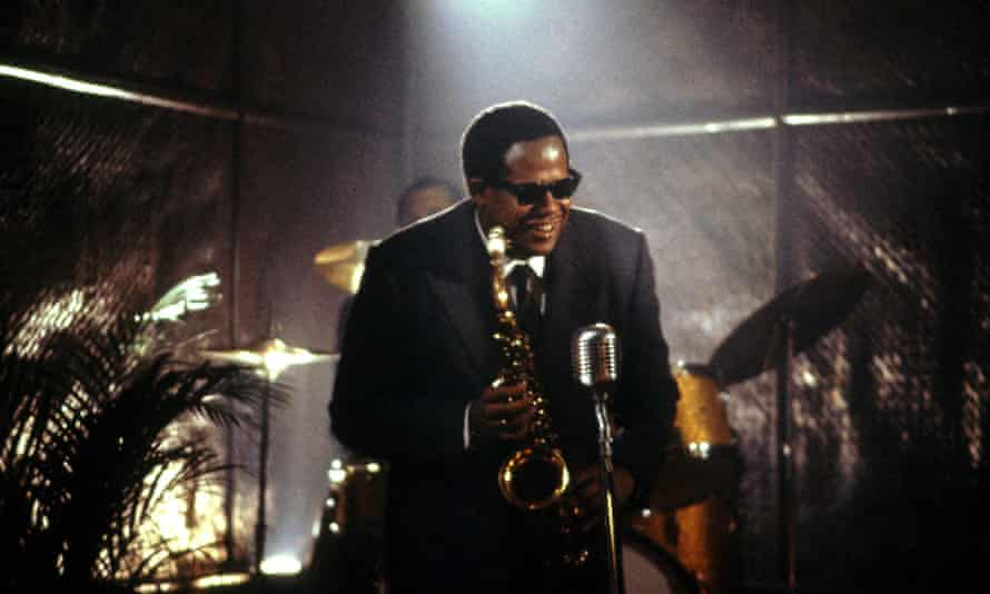 Forest Whitaker as Charlie Parker in Bird.