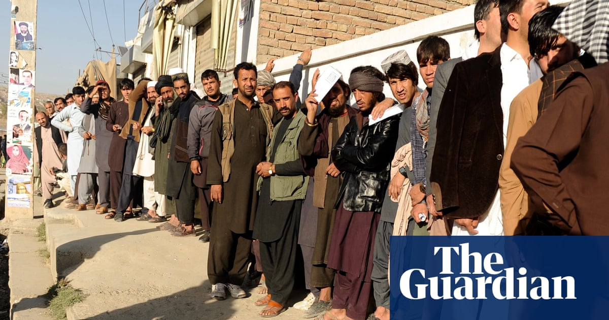 afghan voters brave bloodshed and chaos to cast their votes world