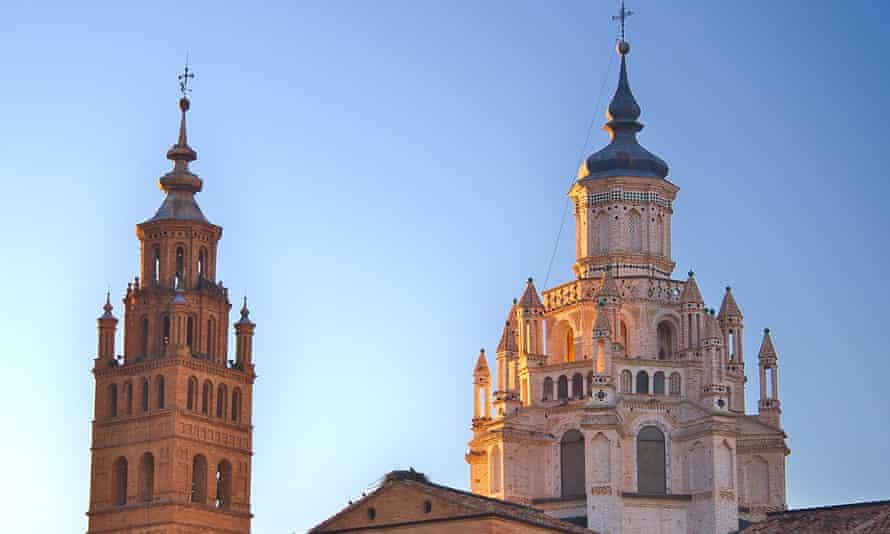 Santa María de la Horta, Tarasona, Aragón, España, Catedral Mutajar Simborio