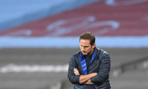 Frank Lampard: it's lonely at the top.