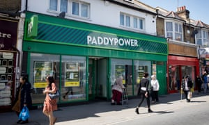 A Paddy Power shop in Newham, east London.