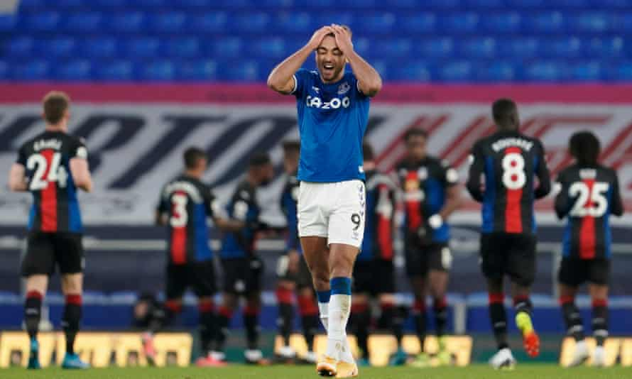 Dominic Calvert-Lewin has worked on his finishing in training after missing chances against Crystal Palace.