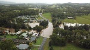 Flooding in Tinonee, NSW