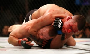 Nate Diaz was too powerful for Conor McGregor