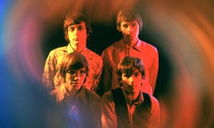 Pink Floyd in 1967 with Nick Mason, Rick Wright, Roger Waters and Syd Barrett.