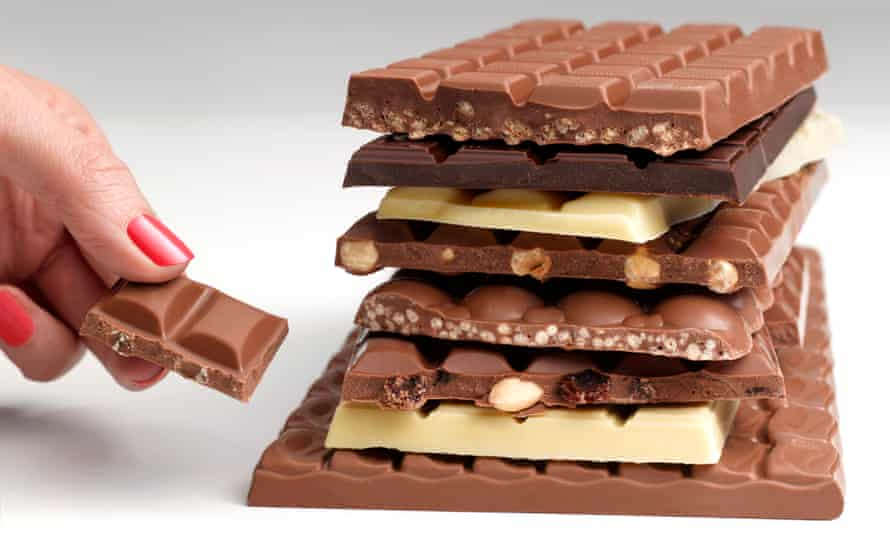 Waitrose said sales of large 'sharing bars' were up by 37%.