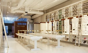 Warby Parker store