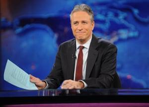 Daily Show host Jon Stewart.