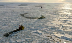 Ressearch ships, arctic