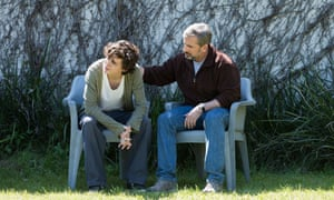 Timothee Chalamet and Steve Carell in Beautiful Boy. Film still