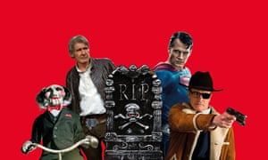 Saw's Billy the Puppet; Han Solo; Superman; and Colin Firth as Kingsman's Harry