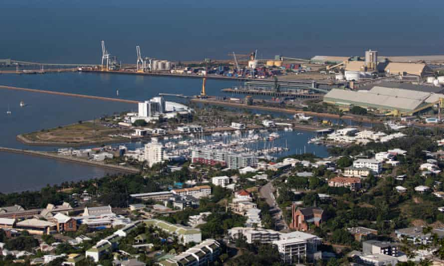 The port of Townsville