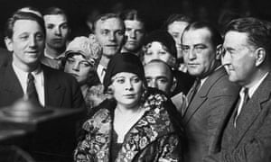 'The worst possible play' … Mae West and her gay cast in court.