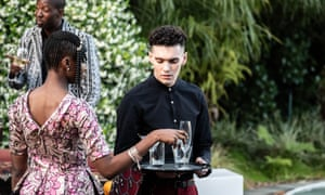 Jack Rowan, right, in the BBC adaptation of Noughts & Crosses.