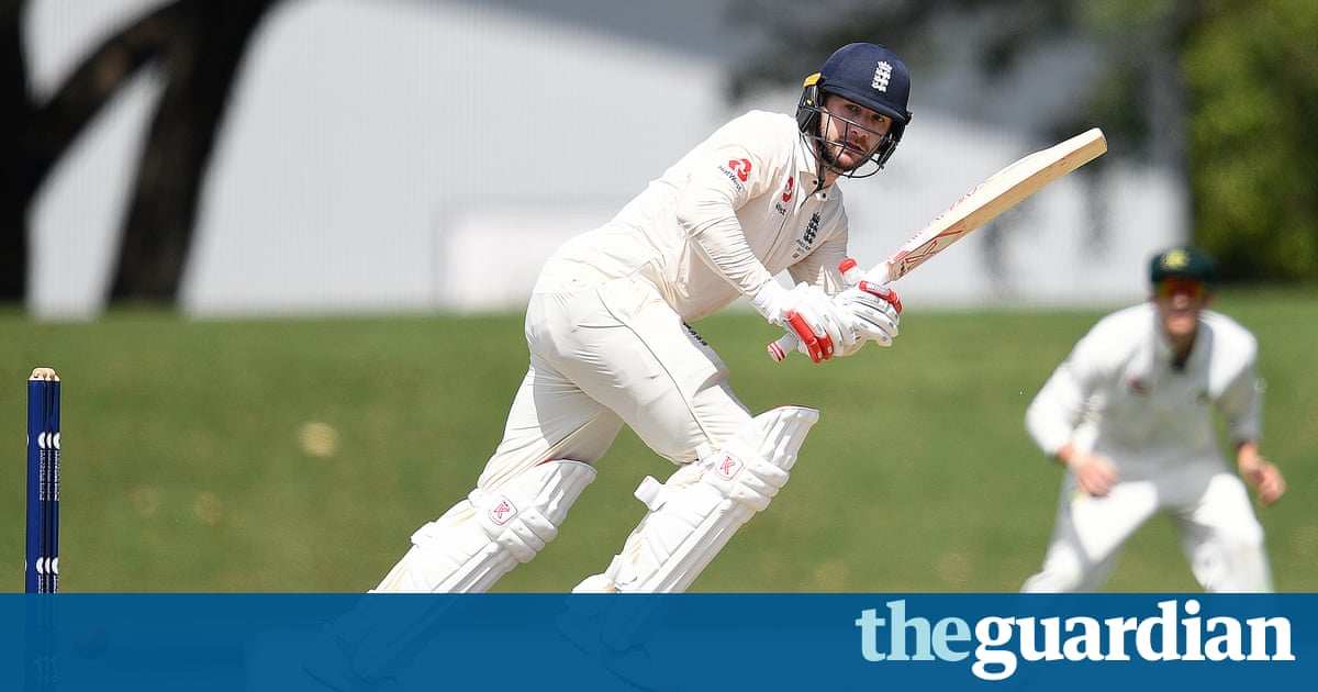 Mark Stoneman hits first England century of Ashes tour against CA XI