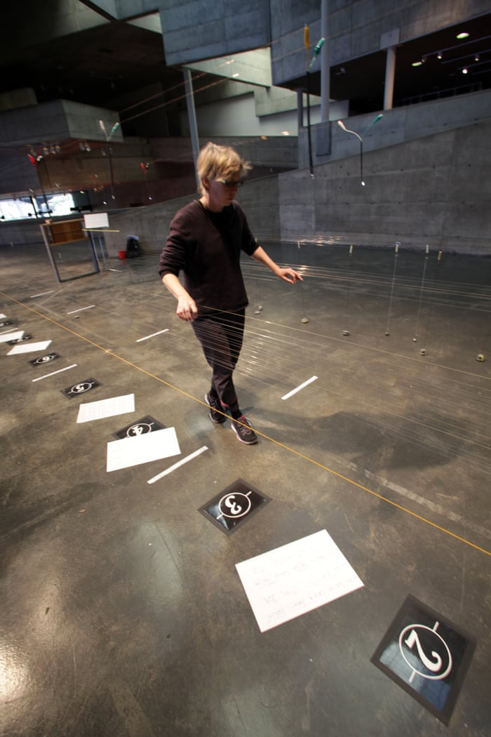 Ellen Fullman: how to play a 100ft stringed instrument