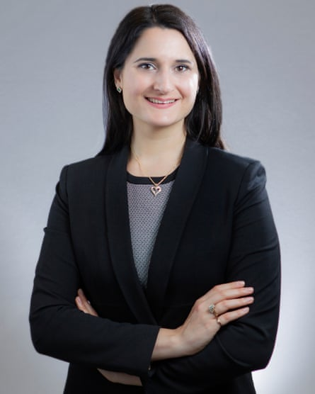 Dr Samantha Hoffman, an expert on China's cyber security operations.